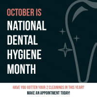 October is national hygiene month