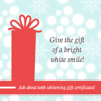 Give the gift of a white smile