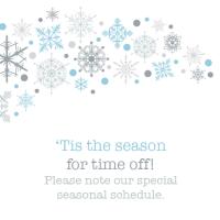 Tis the season for time off
