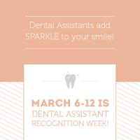 Dental Assistants add Sparkle