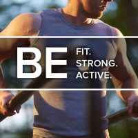 Be Fit. Strong. Active