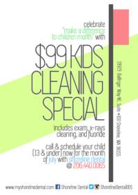 Kids Cleaning Special