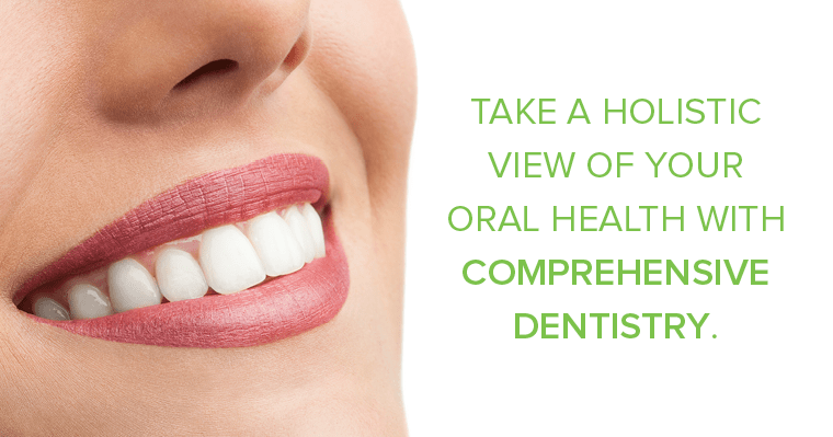 Take a holistic view of your dental health with Shoreline comprehensive dentistry